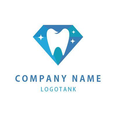 輝く歯のロゴマーク 固さ,歯医者,デンタルクリニック,ロゴ,デザイン,作成,制作,輝き,ホワイトニング