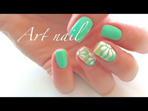 Яркий Маникюр! Дизайн Ногтей Гель лаком! Spring Summer Nail Art - Видео уроки маникюра - Видео - Ноготочки (все о ногтях)