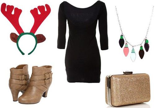 """Winter Outfit Ideas: """"Tacky Christmas Party"""" Attire – College Fashion"""