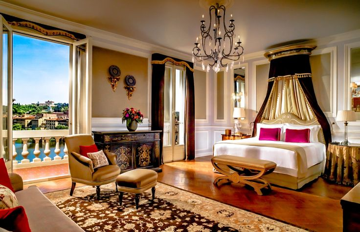 With money comes the luxury of travel here we are in Italy in a magnificent hotel room a luxury most of us will never afford here's to luxury living and traveling