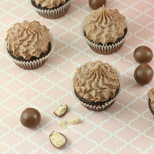 Chocolate Malt Cupcakes | Recipes | Pinterest