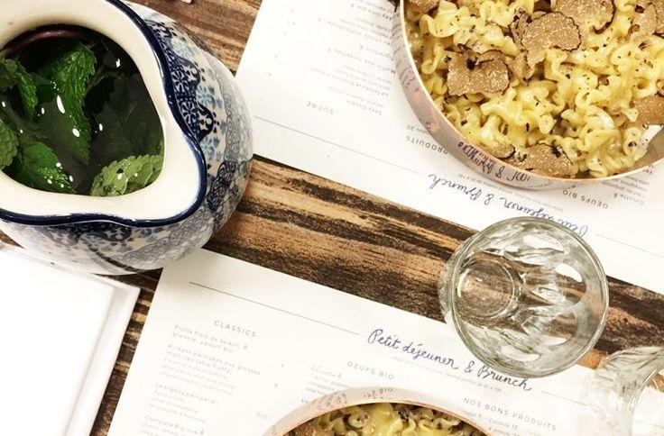 Big Love Caffé restaurant paris big mamma group fernande et rené fere pates aux truffes