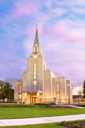 Vancouver, BC LDS Temple ~ Beautiful.  What a peaceful, spiritual place.
