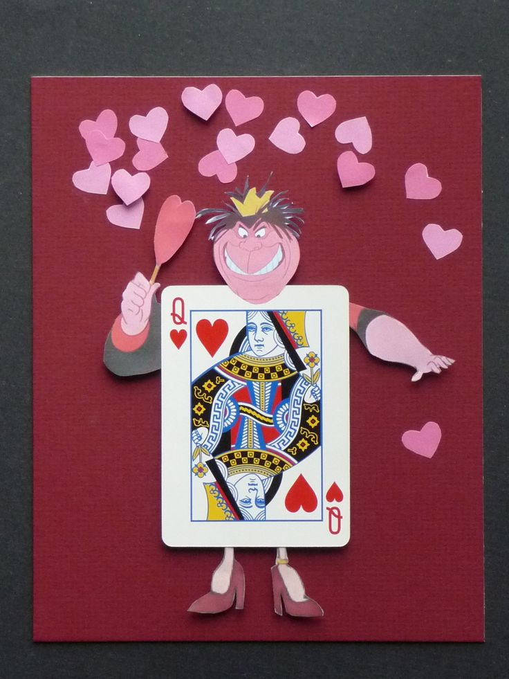 This is so cute--Queen of Hearts character... would look cute next to her Tarts