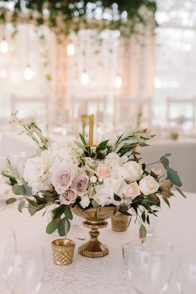 Hochzeits Tischdeko 40 Wunderschone Ideen Fur Runde Tische Tischdekoration Hochzeit Tischdekoration Hochzeit Blumen Hochzeitsdeko