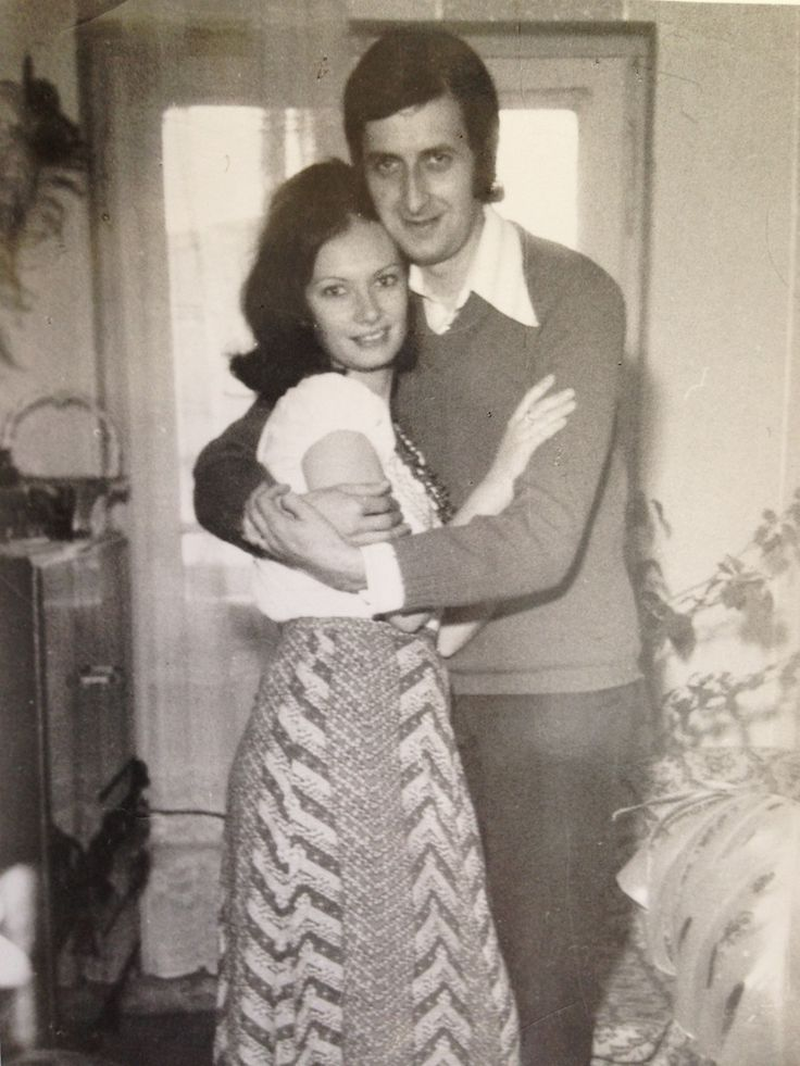 My mom, Georgeta Pavel & my dad, Dan Pavel, in our home in Campina, Romania. I was 3 or 4 when this picture was taken.