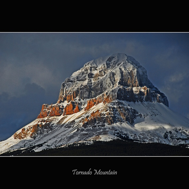 Tornado Mountain #034 by alexander.garin, via Flickr  On the continental Divide between Alberta and B.C. near Crowsnest Pass, Alberta, Canada