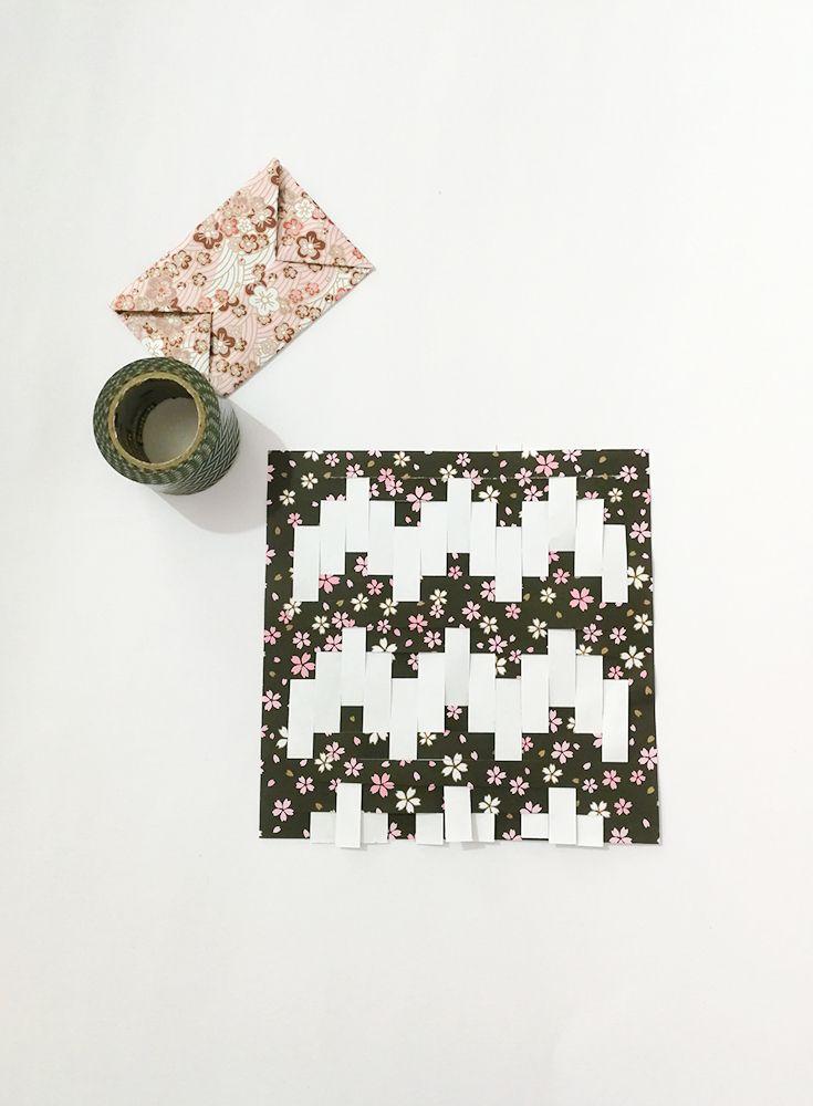 Creojam Paper Weaving Diy Tutorial Fun Idea Handmade Project