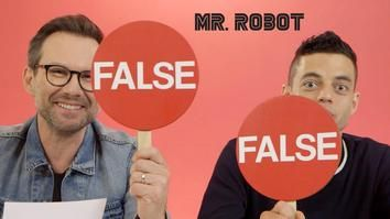 Video: Hacking Facts with Rami Malek Christian Slater Presented by BuzzFeed USA s Mr. Robot ~ Frequency
