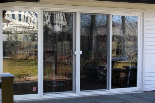 12 best images about exterior doors on pinterest bi for Non sliding patio doors