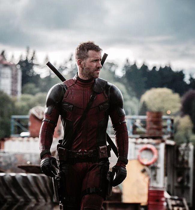 """Ryan Reynolds as seen in """"Deadpool""""..."""