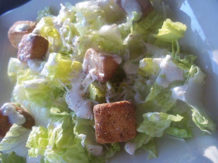 Easy Caesar Salad Recipe (Tasty Tuesday) | Food | Pinterest
