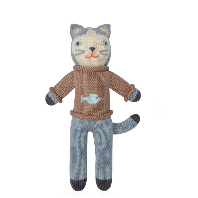 Cat Knit Doll - This delightful knit cat doll will be the friend that your little one will fall for! #PNshop