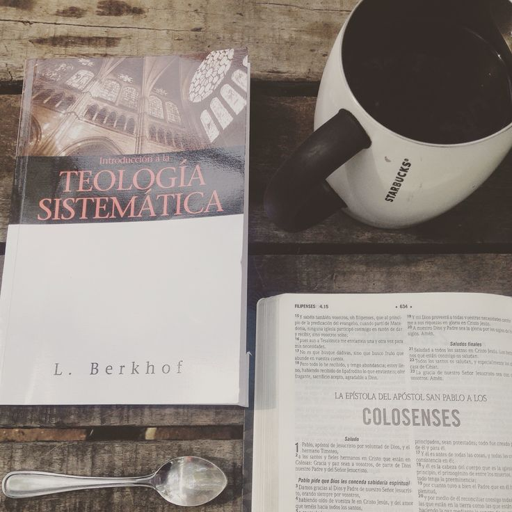 Systematic Theology by Berkhof. Coffee inspiration.