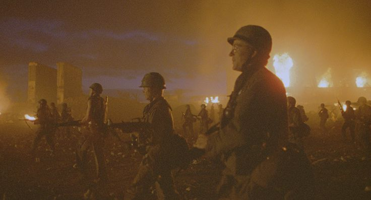 """We have nailed our names in the pages of history enough for today."" - Joker. (Full Metal Jacket, 1987)"