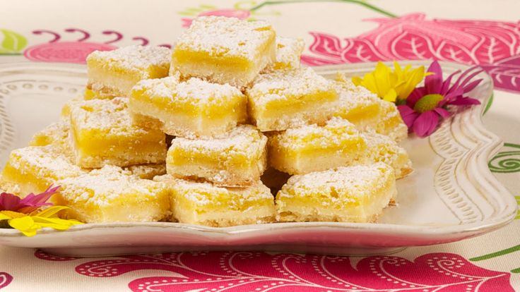 Zippy Lemon Bars - Recipes - Best Recipes Ever - For those who prefer a not-so-sweet treat, serve these tangy, citrusy tidbits.