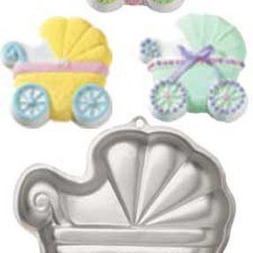 Baby Carriage Cake Pan