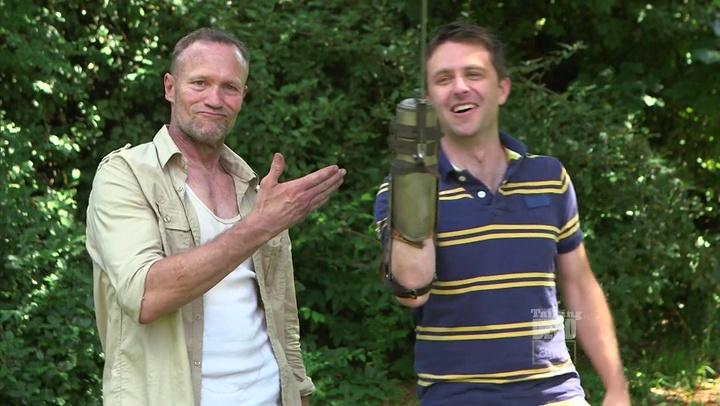 Michael Rooker & Chris Hardwick (Talking Dead)