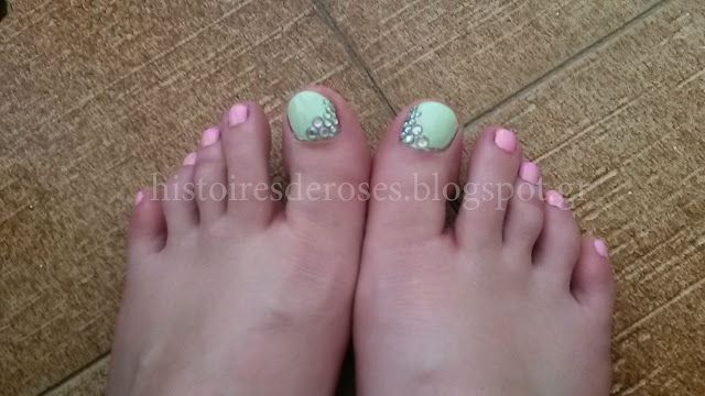 Histoires De Roses: My Summer Nails ... by Me!!!