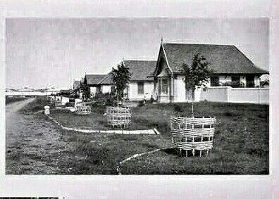 Perumahan (woningen) Pasir Kaliki Bandoeng 1920.
