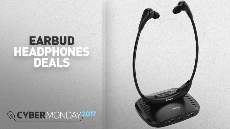 Top Cyber Monday Earbud Headphones Deals: Wireless TV Headphones-INVONS ...