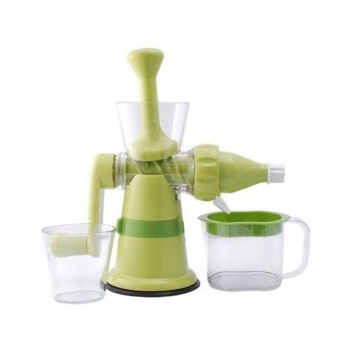 Manual Hand Juicer Crank Fruit Vegetables Squeezer Wheat Grass Juice Fruits Home