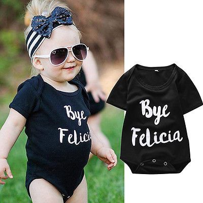 Newborn Baby Boy Girls Fashion Summer Letter Black Short Sleeve Bodysuit Outfits 3 6 9 12M-in Bodysuits from Mother & Kids on Aliexpress.com | Alibaba Group