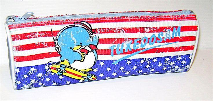 TUXEDOSAM 1984 Sanrio Japan pencil wallet loose - astuccio usato kawaii