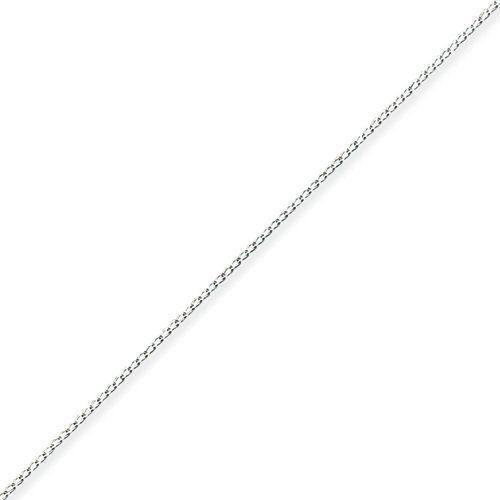 Sterling Silver 0.3mm Fancy Chain - 9 Inch West Coast Jewelry. $6.95