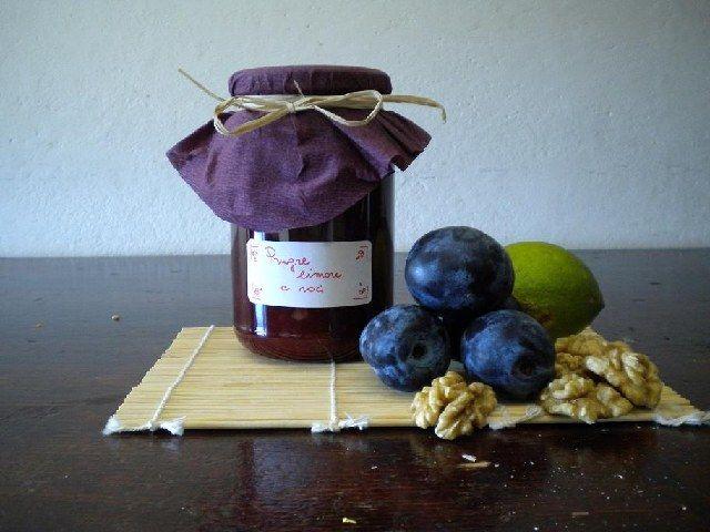 Cooker.NET | Marmellata di Prugne, Limoni e Noci