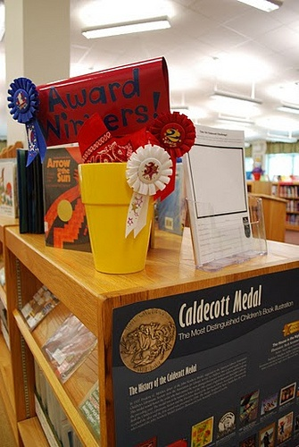 Award Winners by PlayfulLibrarian, via Flickr