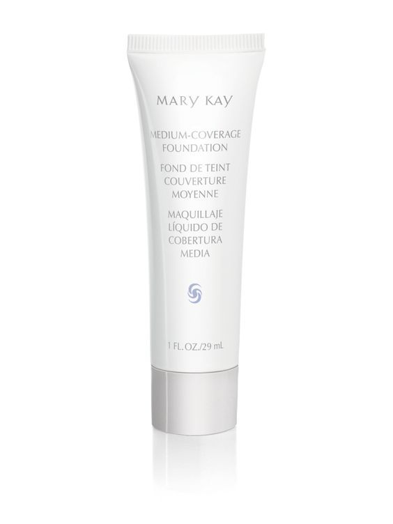 Mary Kay Medium-Coverage Foundation - This lightweight liquid foundation gives you stay-true, stay-put color for flawless, natural-looking, long-lasting, even coverage. The silky-smooth formula provides buildable coverage and controls excess oil for at least eight hours. For normal to oily skin and is suitable for sensitive skin. www.marykay.com/tcurry4993