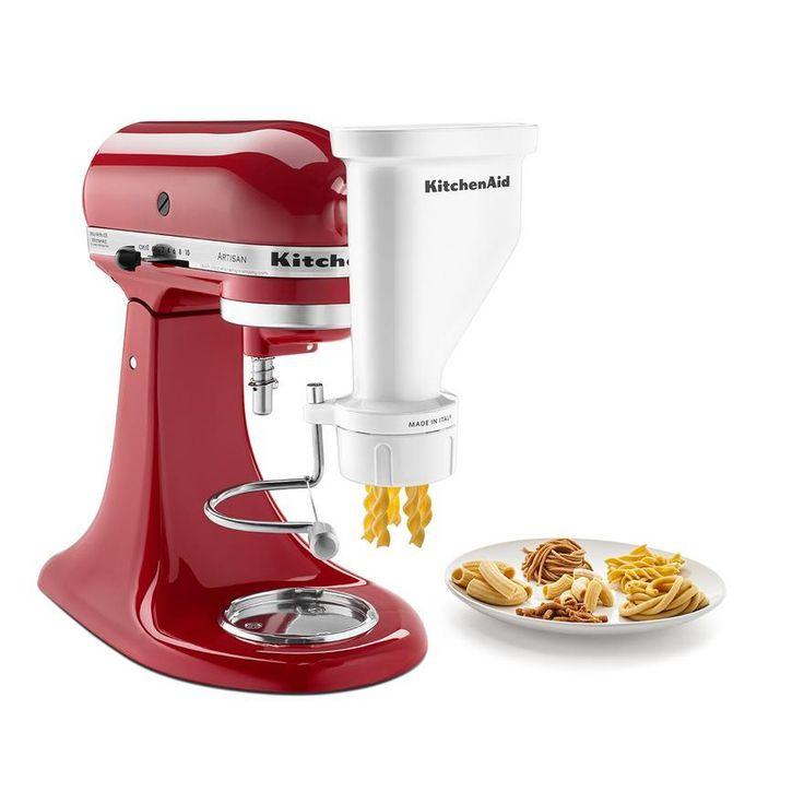 Kitchenaid gourmet pasta press attachment gourmet pasta