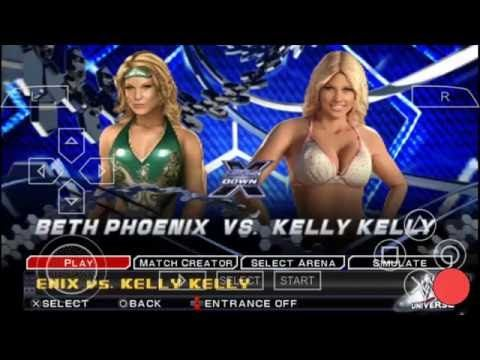WWE SVR 2011: Beth Phoenix vs. Kelly Kelly (Smackdown X)