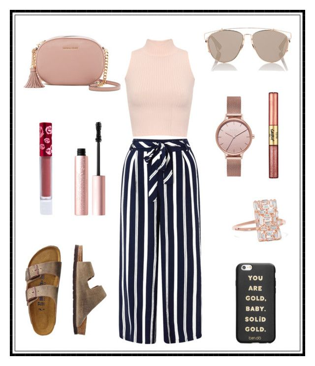 """#155"" by e-elmedal on Polyvore featuring Monsoon, WearAll, TravelSmith, Christian Dior, Lime Crime, Skagen, Suzanne Kalan, ban.do, MICHAEL Michael Kors and tarte"