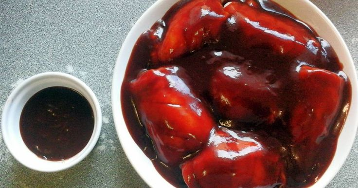 Great recipe for Chinese Barbecue Sauce. Many years ago I used to get spare ribs from a takeaway whose barbecue sauce was so good you could eat it on it's own.  This is my attempt to re-create it.