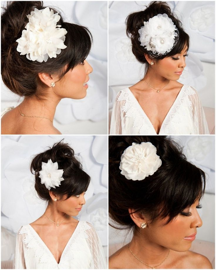 #Flower  #Hair Accessories #Bridal