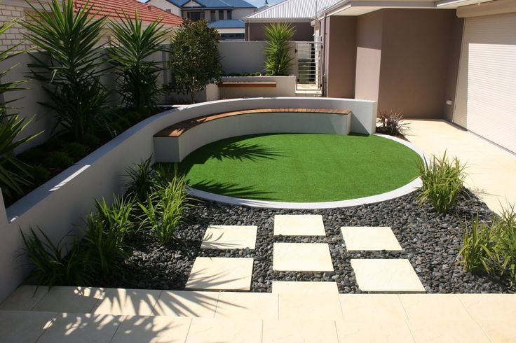 17 best images about c sped artificial jardines on - Jardines pequenos con piedras ...