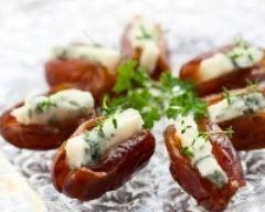 Dattes farcies au bleu (facile, rapide) - Une recette CuisineAZ