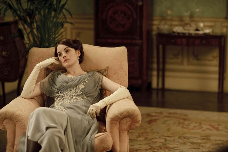 My life would be so much better if I could just lounge around in a dress and gloves in my parlor.: Downton Obsession, Downtonabbey, Castles Interiors, Beautiful Dresses, Highclere Castle, Downtown Abbey, Downton Abbey, Downton Abbie, Lady Mary