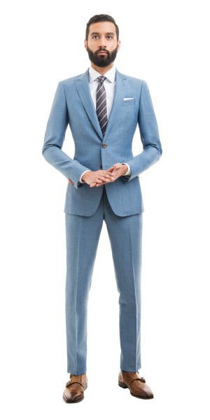 Best 25  Light blue suit ideas on Pinterest | Summer wedding men ...