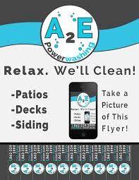 Power Washing Flyer Ideas Deck Pictures Deck Blue Bird