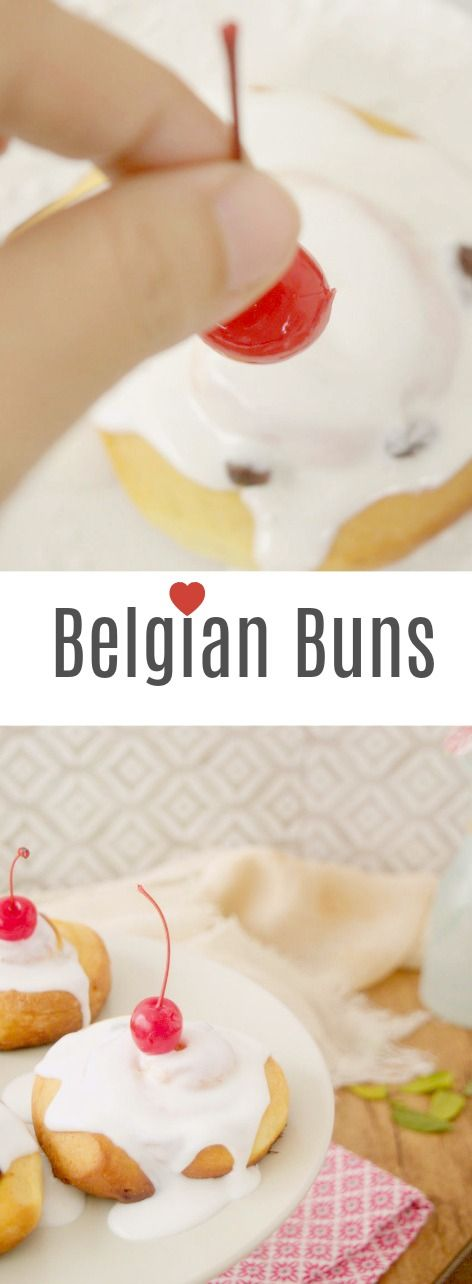 Belgian Buns or Couque Suisse? Never mind. They're the best buns in the world. Easy and delicious.  How-to photos English recipe Los mejores bollos belgas que jamás hayas probado. Fotos del paso a paso. En Patty's Cake
