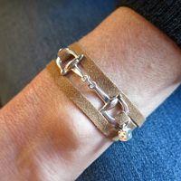 Bracelets : Bracelet Mors beige Dé d'amour