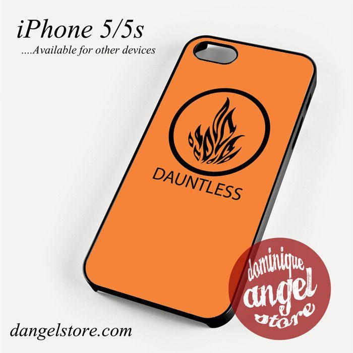 Divergent Dauntless Phone Case for iPhone 4/4s/5/5c/5s/6/6s/6 plus