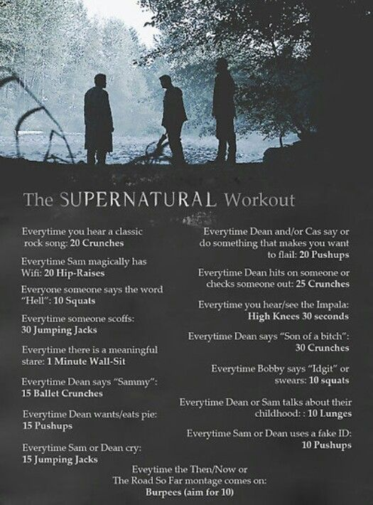 Supernatural Workout