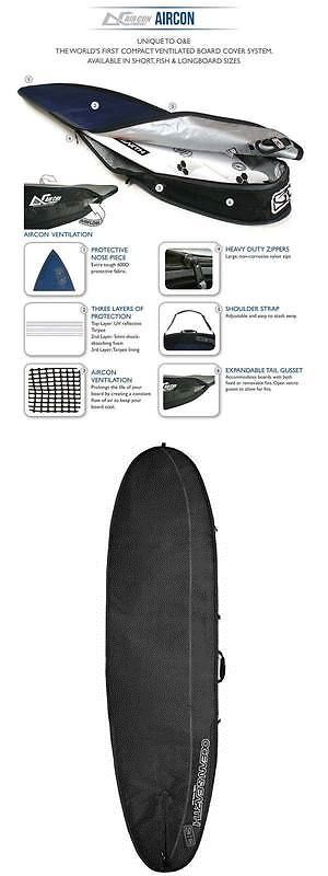 Board Bags and Socks 71165: 9 2 Ocean And Earth Longboard Surfboard Bag Aircon Heavy Weight Travel Sale $$ -> BUY IT NOW ONLY: $99.99 on eBay!