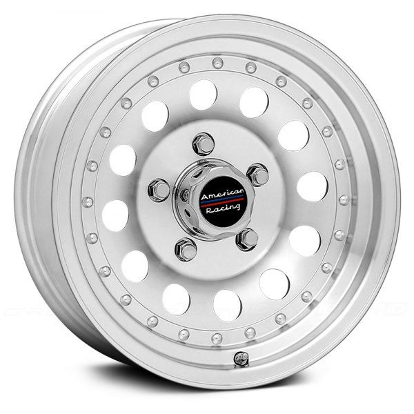 AMERICAN RACING® - AR62 OUTLAW II Machined Silver with Clear Coat Powder