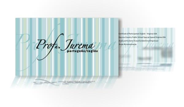 Cartão de visitas para professora - RJ.