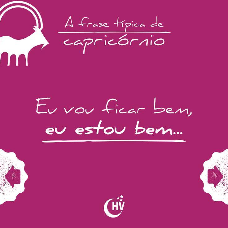 Frase de Capricórnio. #horóscopovirtual #signos #zodíaco #frases #capricórnio